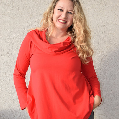 חולצת מיכאלה אדומה