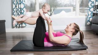 5 Mejores ejercicios para mamás ocupadas