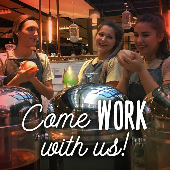 Chatime come work with us. Career form.