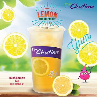 Chatime Lemon Tea (Chatime UK Bubble Tea)