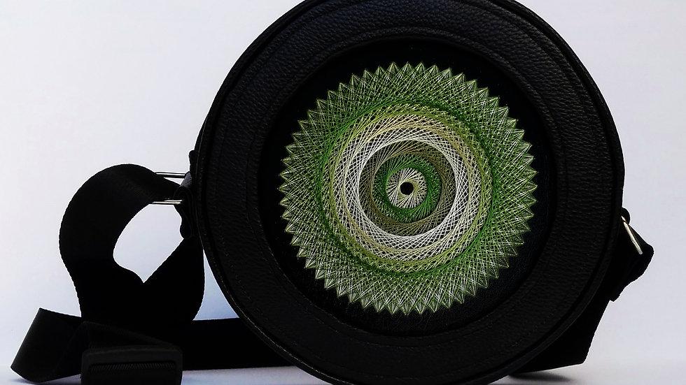 "Flexy circle bag ""Green"""