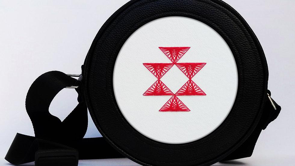 Flexy circle bag - White Kanatitca
