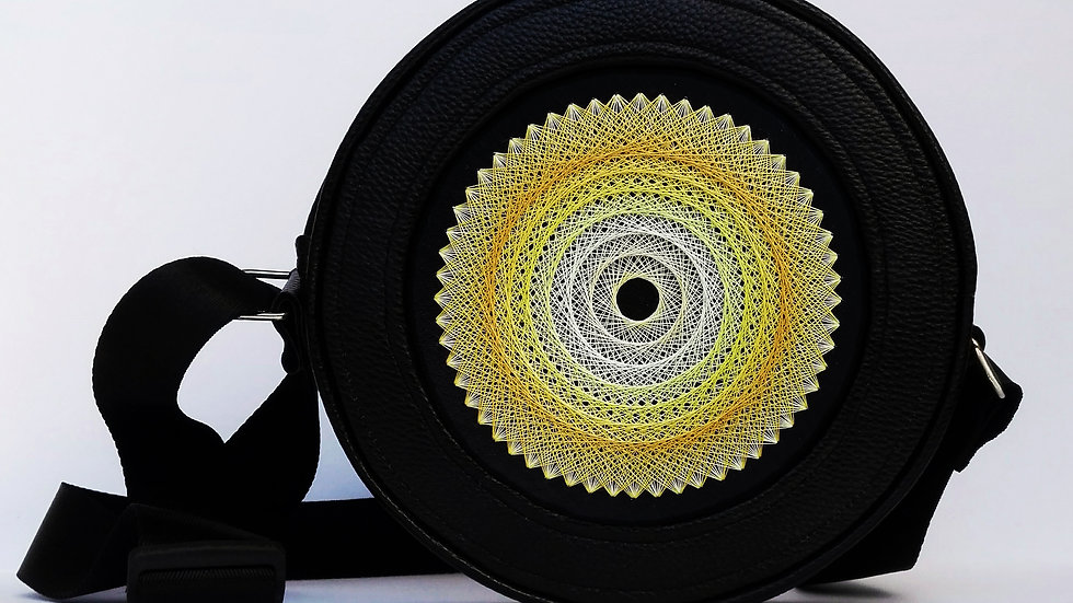 "Flexy circle bag ""Yellow"""