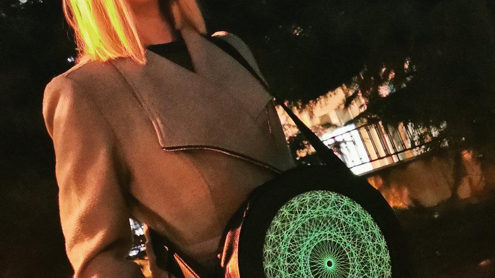 Glowing big shoulder bag - Bright the night