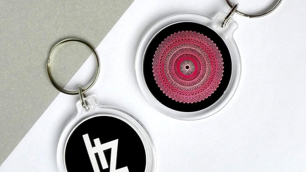 Keychain - Pink magic