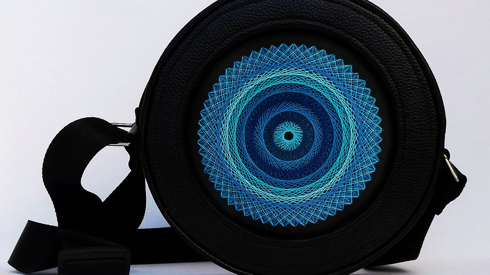 "Flexy circle bag ""Blue"""