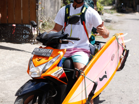 Scooters, beers and beaches, Southern Bali.