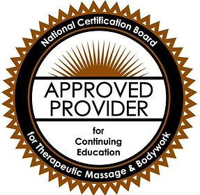 Approved provider for Massage CEs