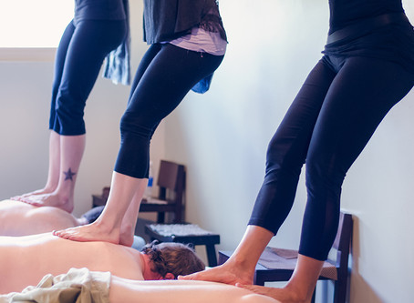 Ready for some advanced moves in your Barefoot Massage?
