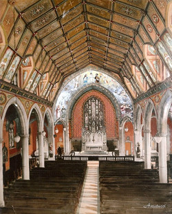 Holy Family 1907 Interior