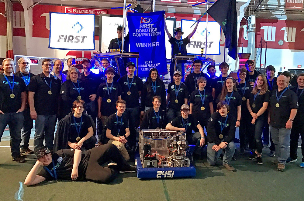 Team PWNAGE #2451 at the FIRST Robotics Competition