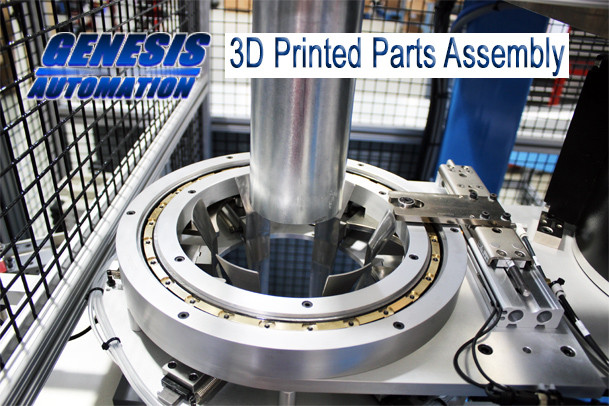 Genesis Automation 3d printed assembly machine part