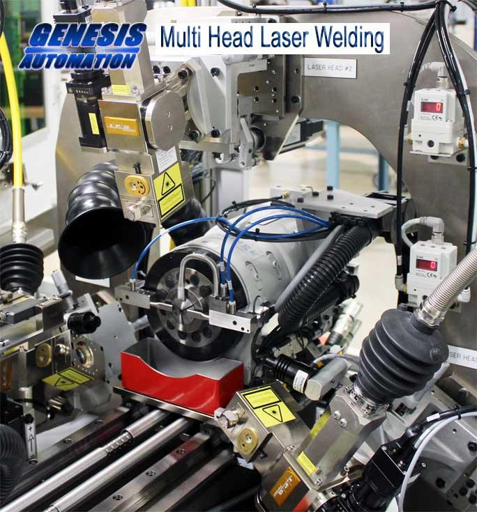 Genesis Automation: Multi Head Laser Welding