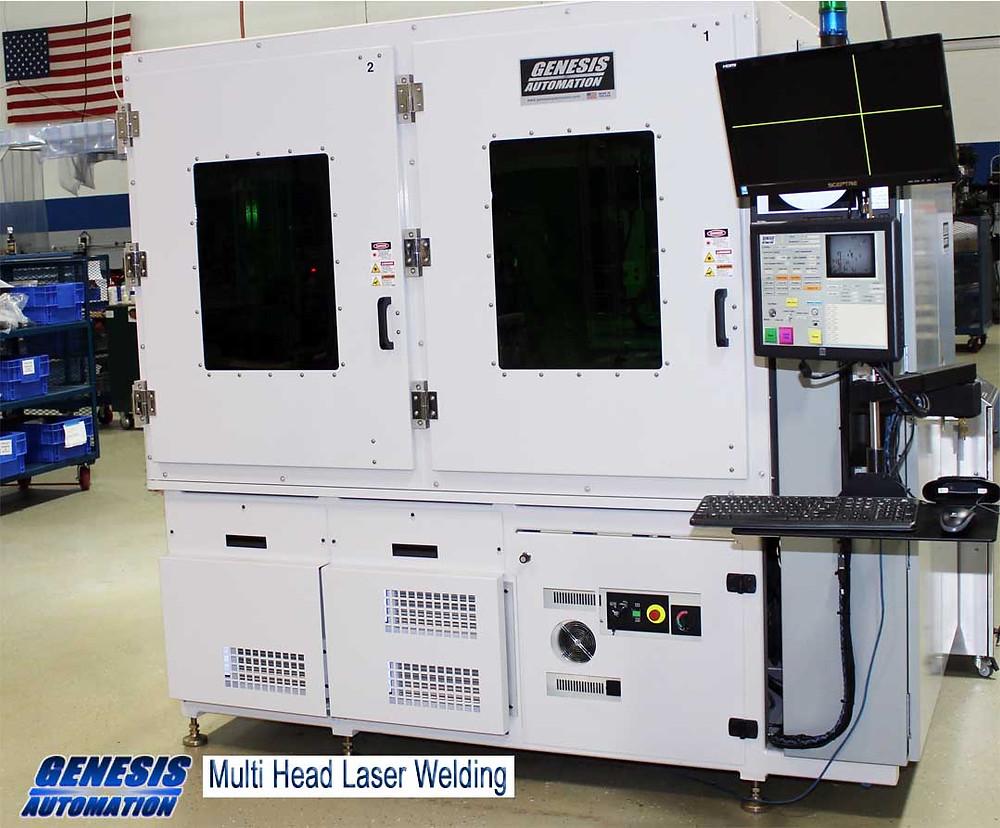 Multi Head laser welding machine