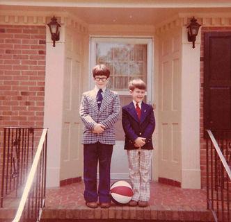 Metzler Brothers as children