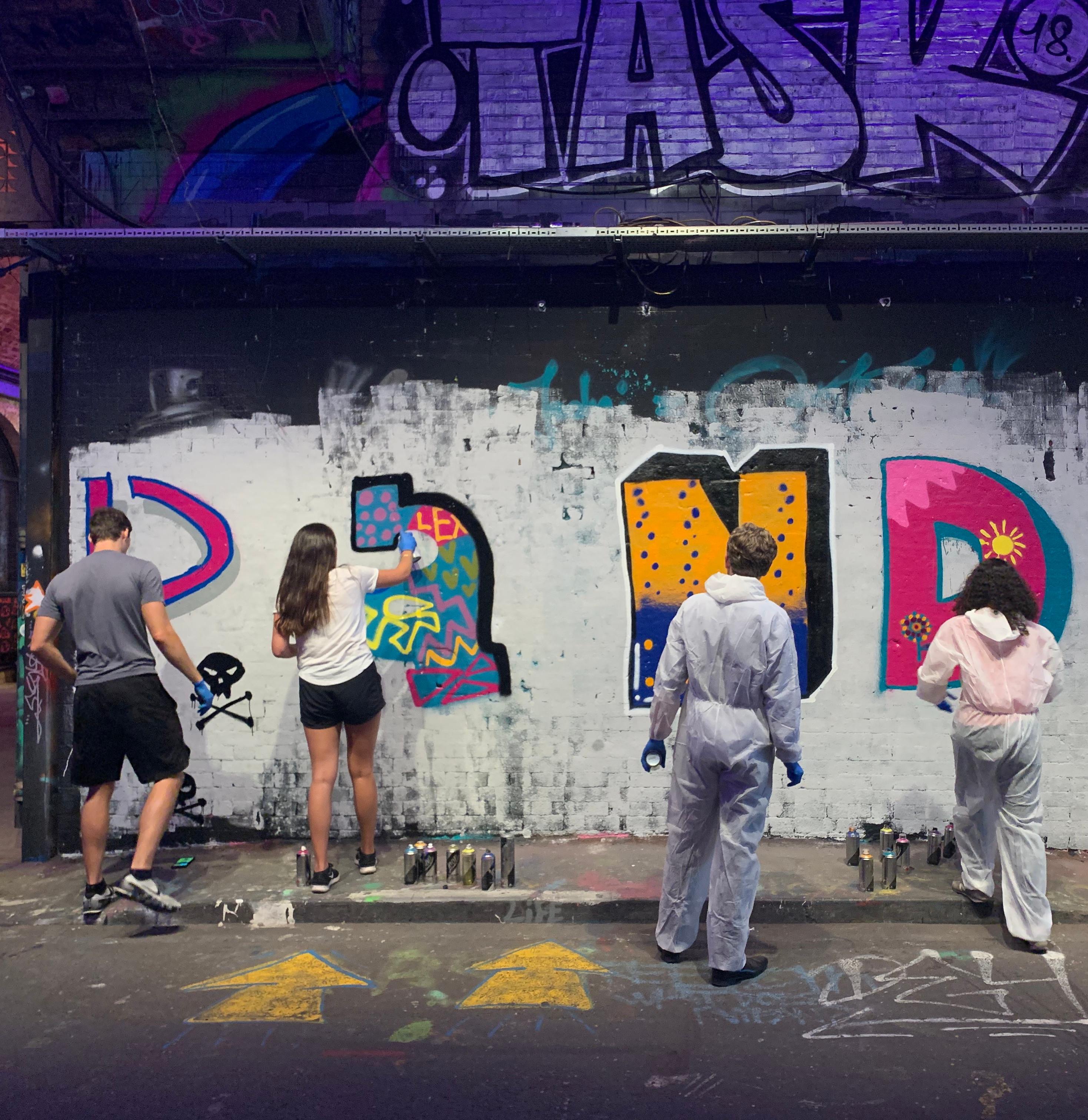 Graffiti workshop 3 - 4 people