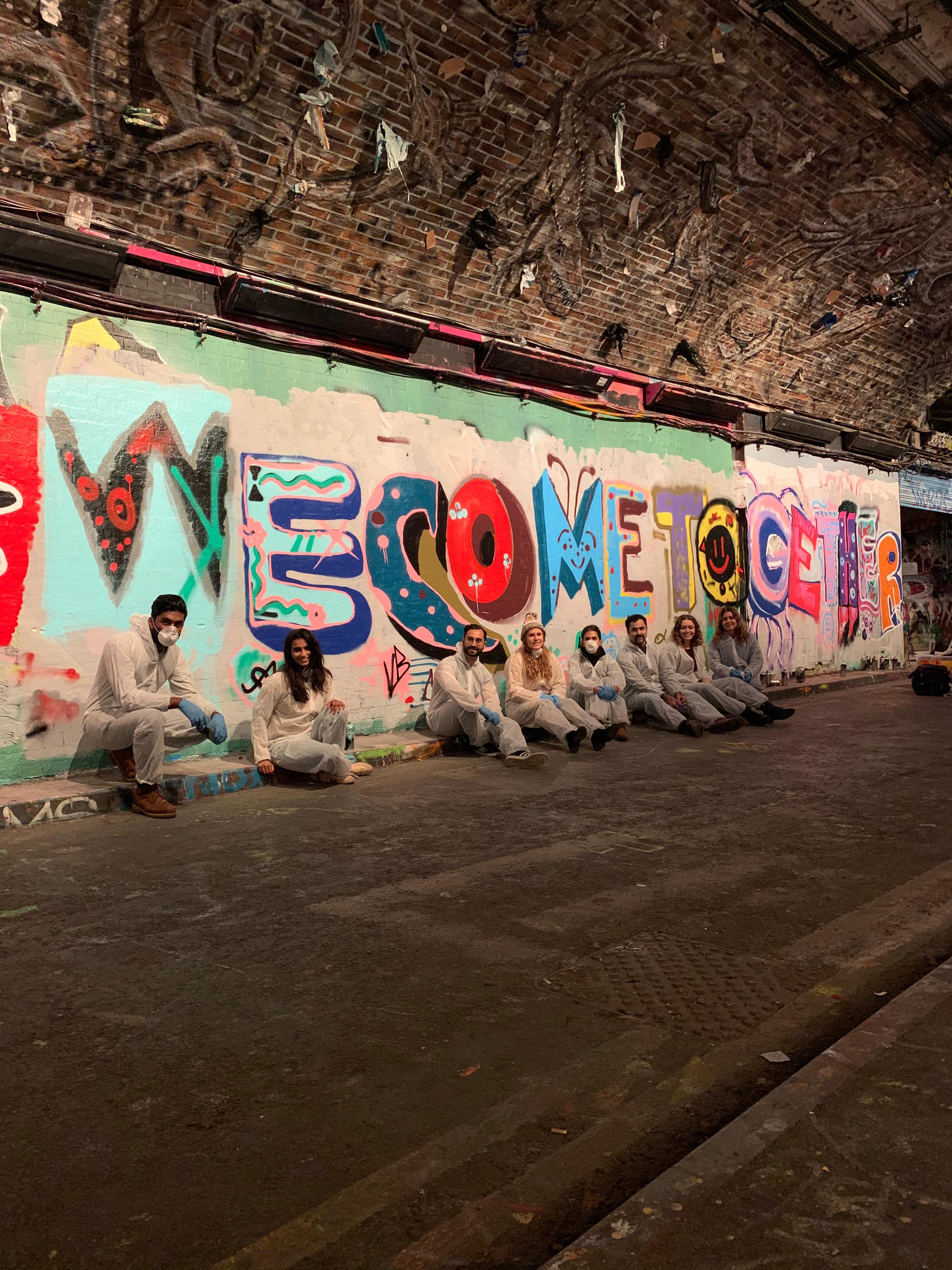 Graffiti Workshop 11 people