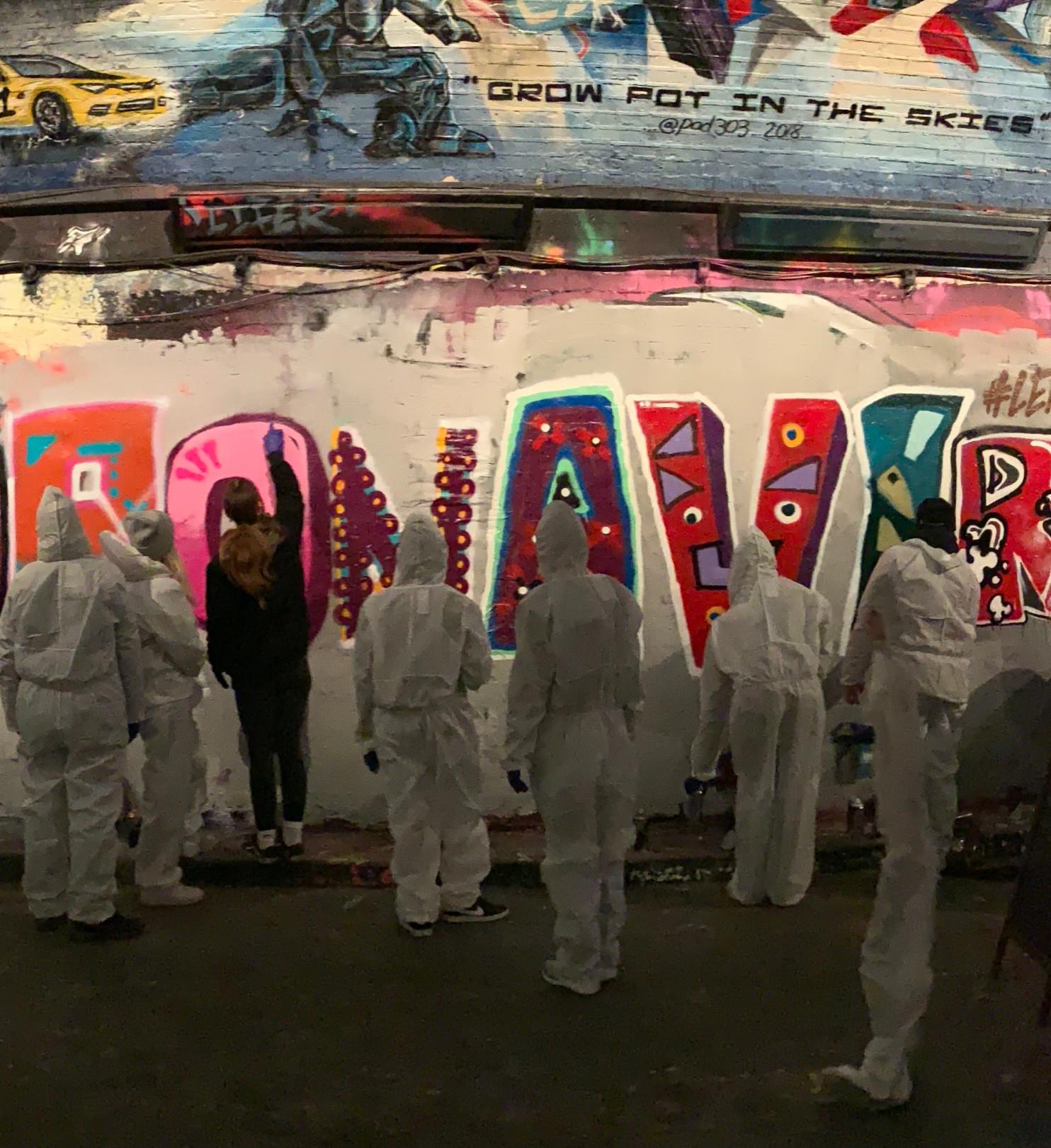Graffiti workshop 8 people