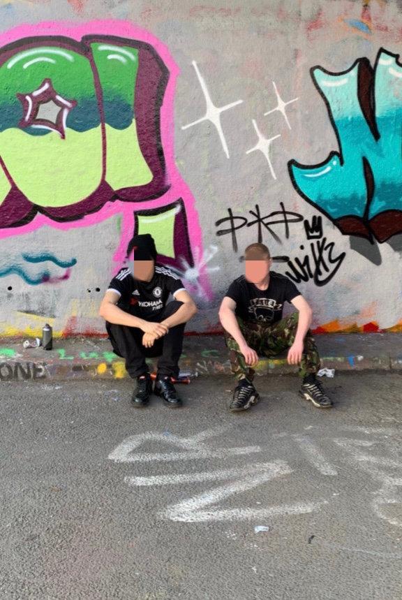Graffiti workshop 1 - 2 people