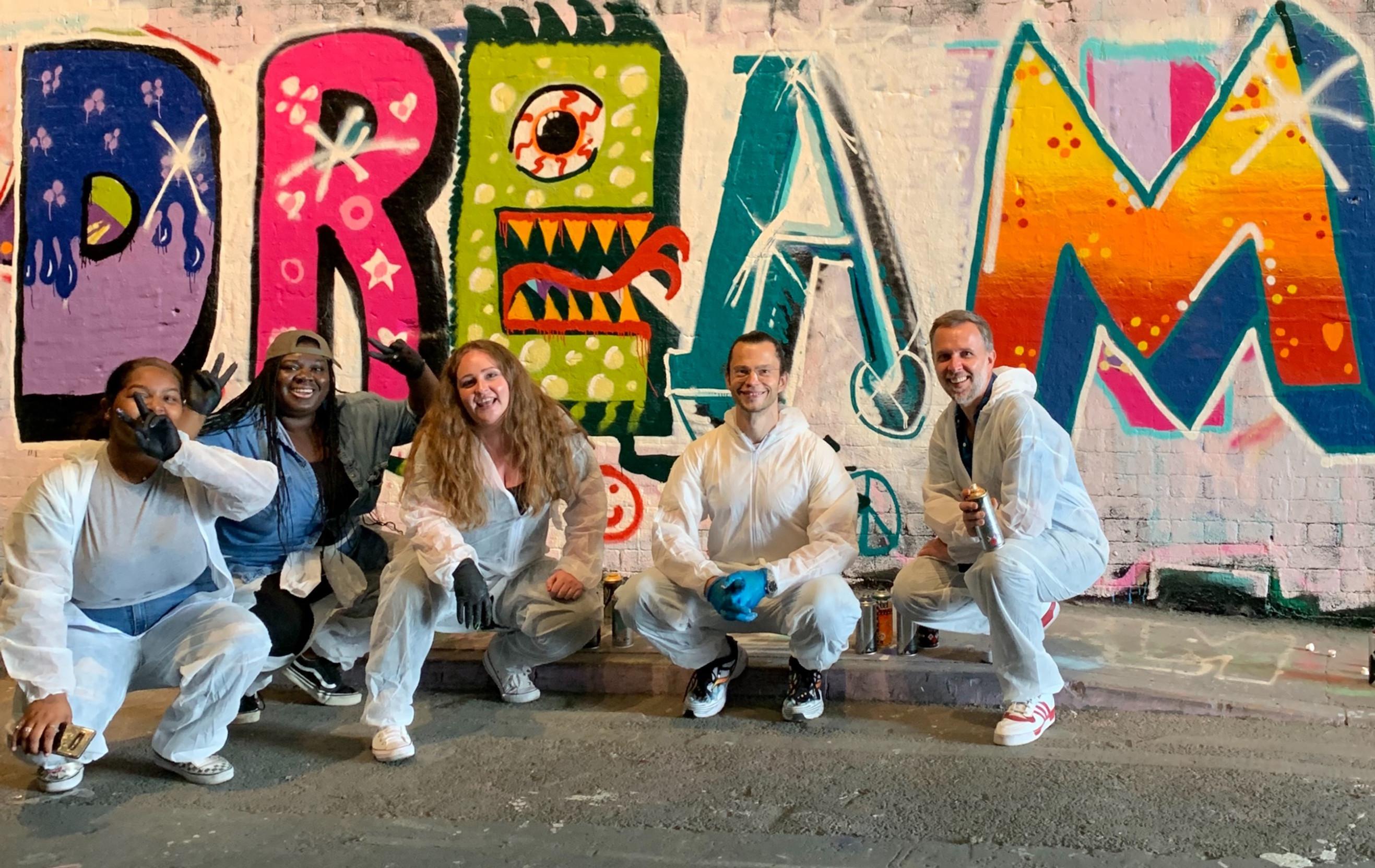 Graffiti workshop 5 People