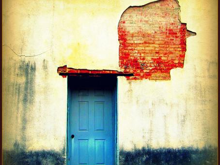 'The door' -                                      Jenna Siladi (year 10)