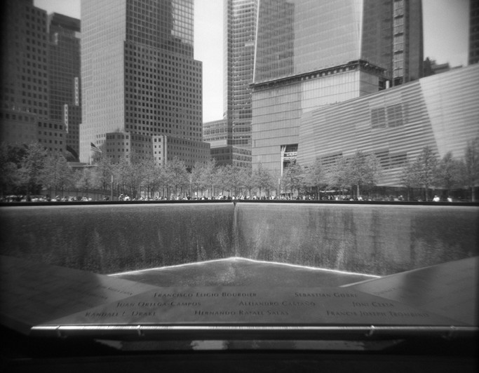 National September 11 Memorial, South Pool