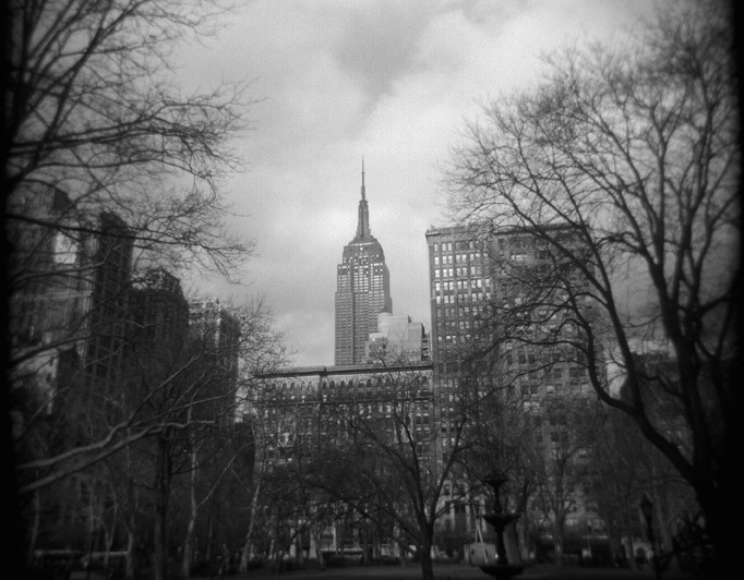 Empire State Bldg from Madison Square Park