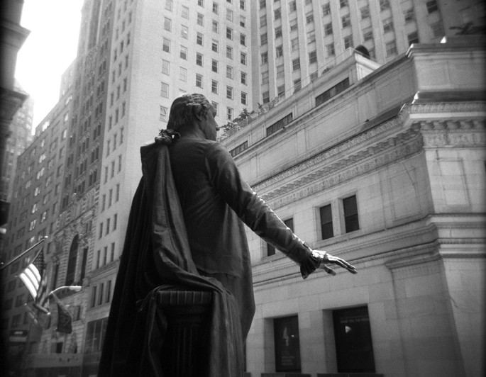George Washington Statue at the Federal Hall National Memorial