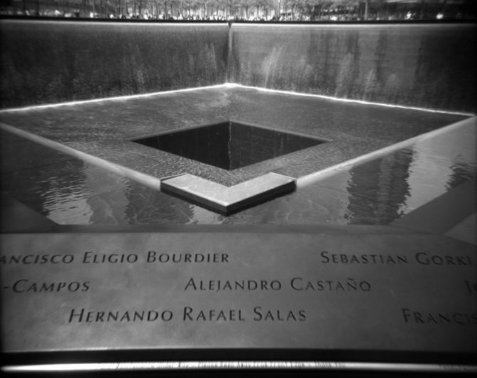 National Sept 11 Memorial, South Pool