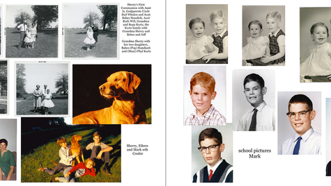 pages 34 & 35 - 1960s, school pictures