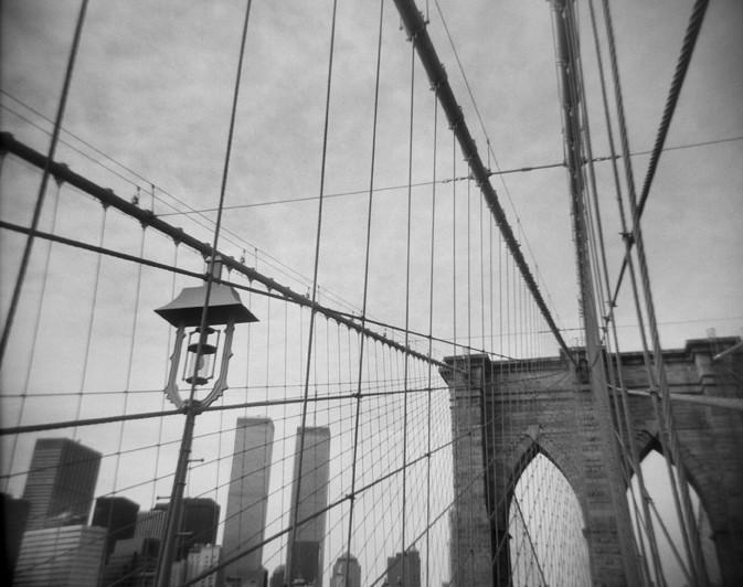 Brooklyn Bridge and Lower Manhattan