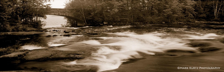 Bog River Falls bridge