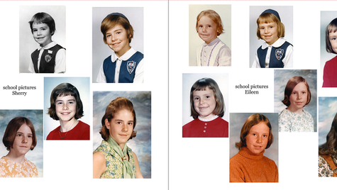 pages 36 & 37 - 1960s school pictures