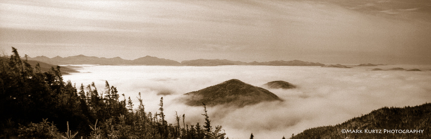 High peaks from Little Whiteface