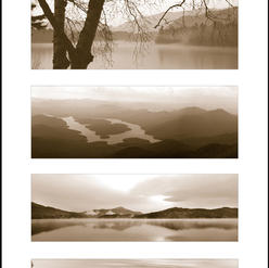Lake Placid sepia