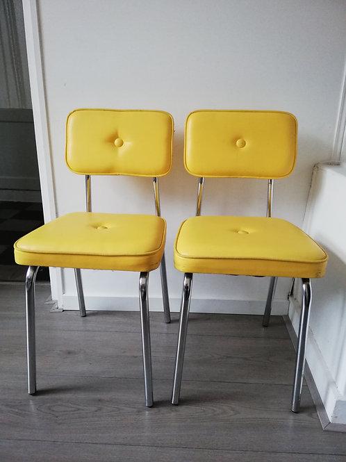 2 stoelen jaren 50
