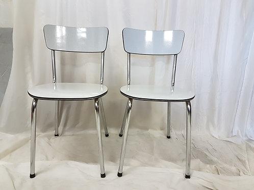 Formica stoelen / Per stuk