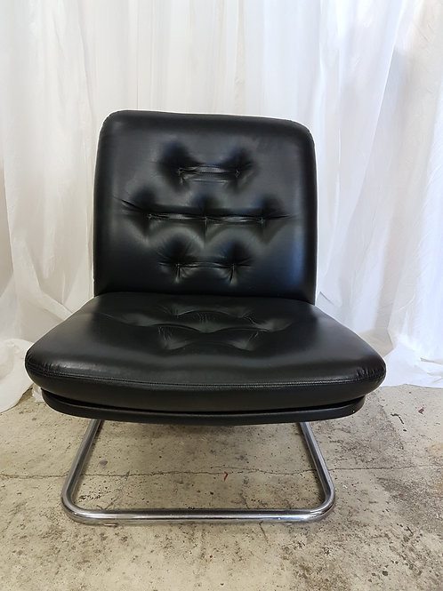 Lounche chair 1950 - 1974 leder