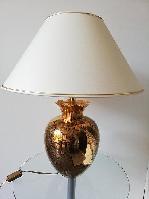 Vintage ananas tafellamp van Maison Le Dauphin, jaren 70