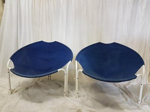 Ballon chair / Lusch&co  jeansstof / Per stuk