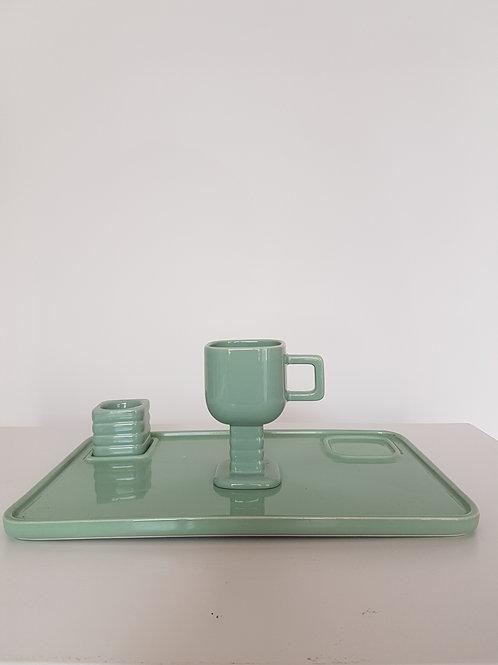 Ontbijtset Keramik