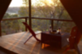 River view tent at dusk.JPG