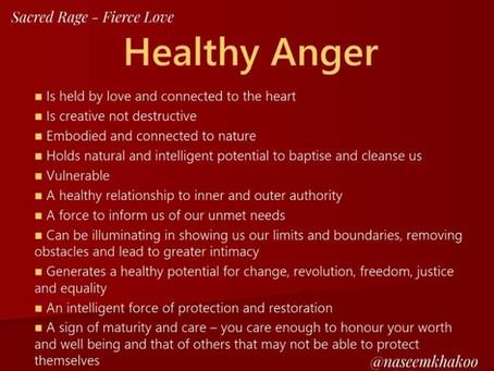 Anger & Sex