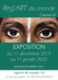 affiche expo aix-les-bains 2019 2020