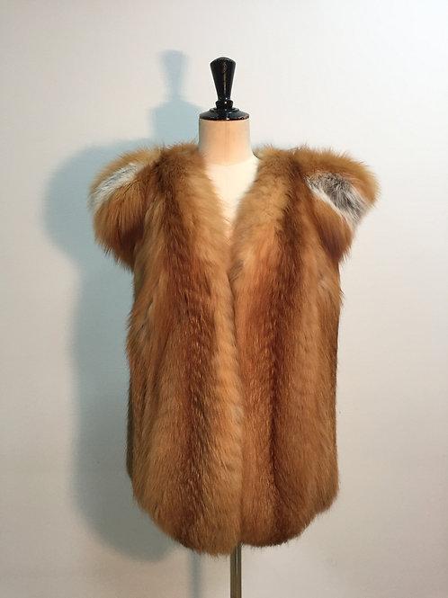 Vest with fox