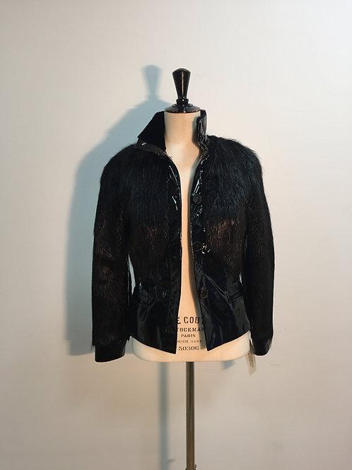 Jacket black nutria