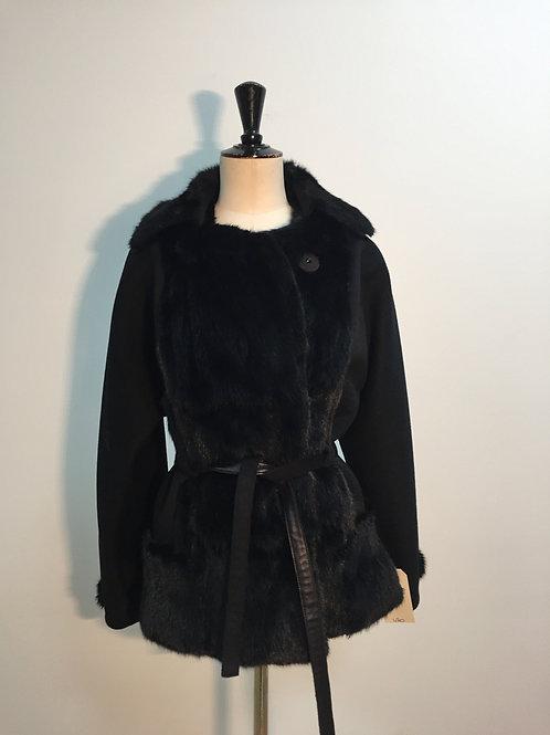 Coat with squirrel