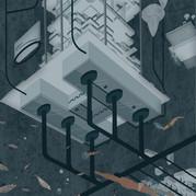 Water Storage Network in Isolation