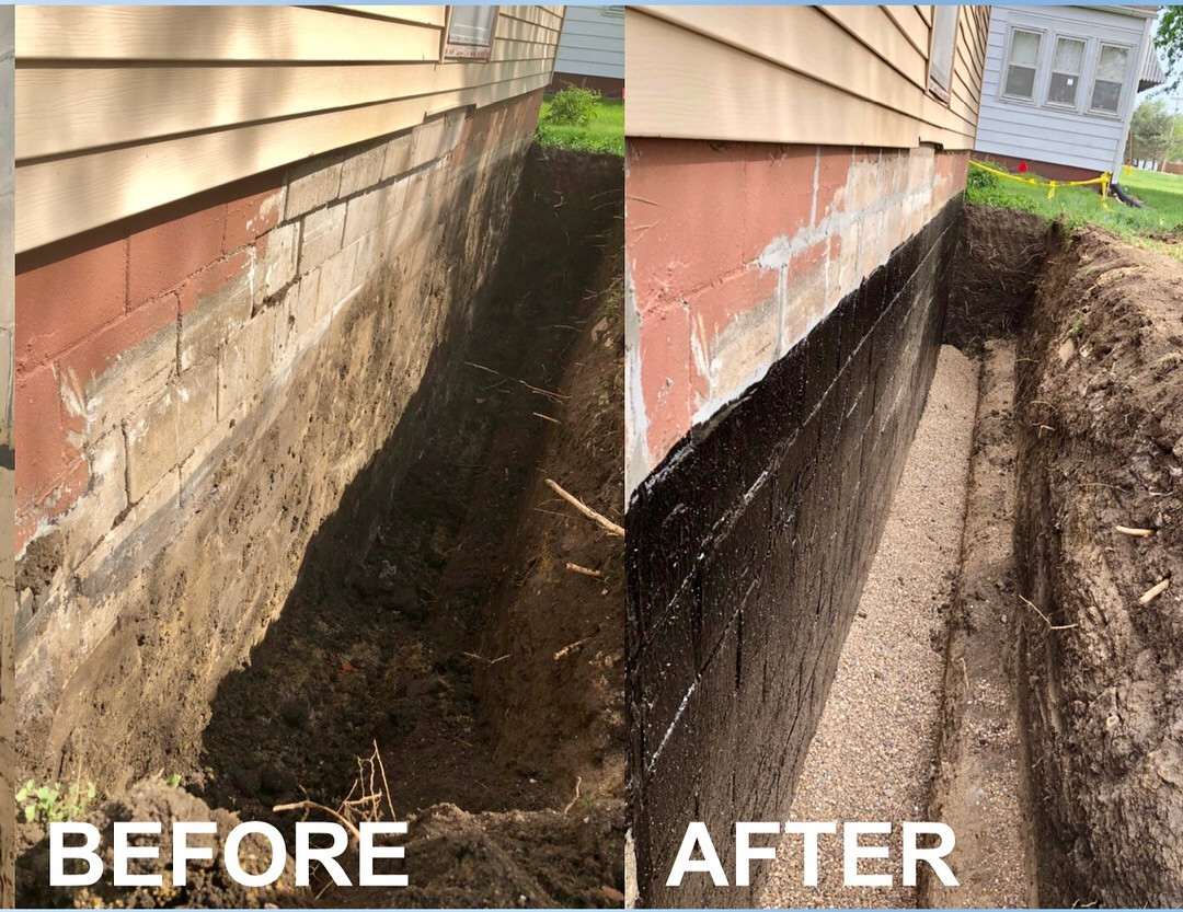 Repaired Foundation