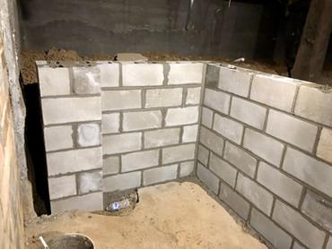 New Half Wall